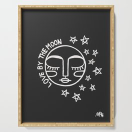 Love By The Moon Serving Tray