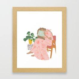 Le artiste Framed Art Print