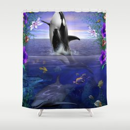 "World of Color ""large format"" Shower Curtain"