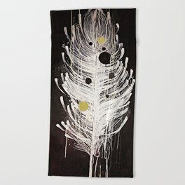 Feather Souls Beach Towel