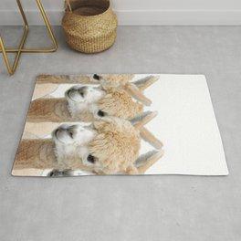 Alpaca Line Up Rug