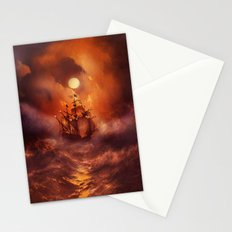 Perfect storm. Stationery Cards