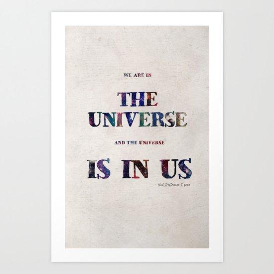 """""""Universe"""" Print Art Print"""