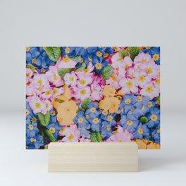 spring flowers ii Mini Art Print