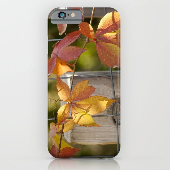 Holding on to the Warmth iPhone & iPod Case