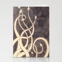 kraken Stationery Cards featuring Kraken by cepheart