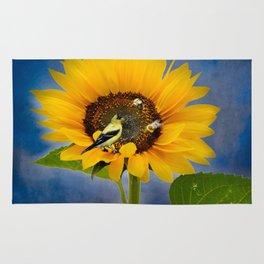Sweet sunflower Rug