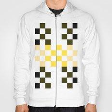 Yellow Pixel Hoody