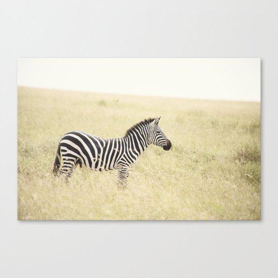 be still::kenya Canvas Print