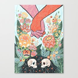 Till Death Do Us Part Canvas Print