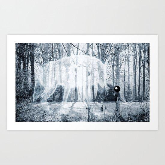 meeting 2 Art Print