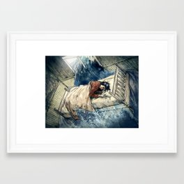 Crooked Creek #5 Framed Art Print