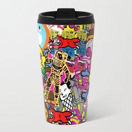 Bape X Ice Cream X Baby Milo X Billionaire Boys Club Collage Travel Mug