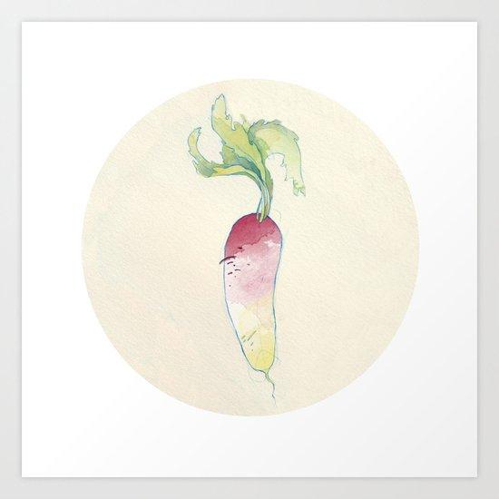 Turnip Art Print