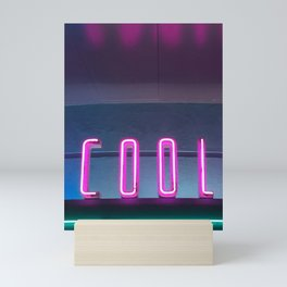 Neon COOL Mini Art Print