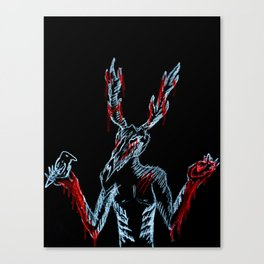 One Day You Will Suffer Like I Suffer Canvas Print