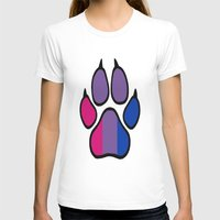 bisexual T-shirts featuring Bisexual Furry Pride by Jeymohr
