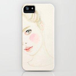 Cathy iPhone Case