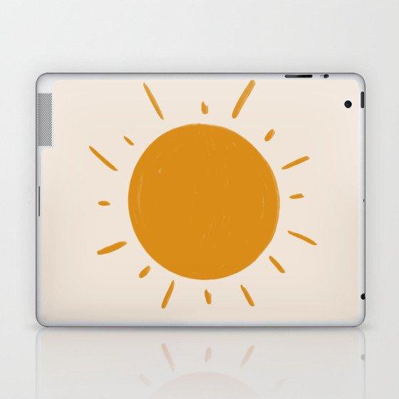 painted sun Laptop & iPad Skin