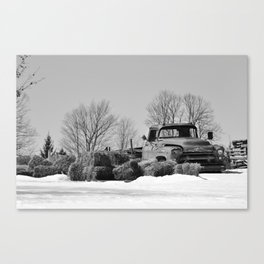 Retired Canvas Print