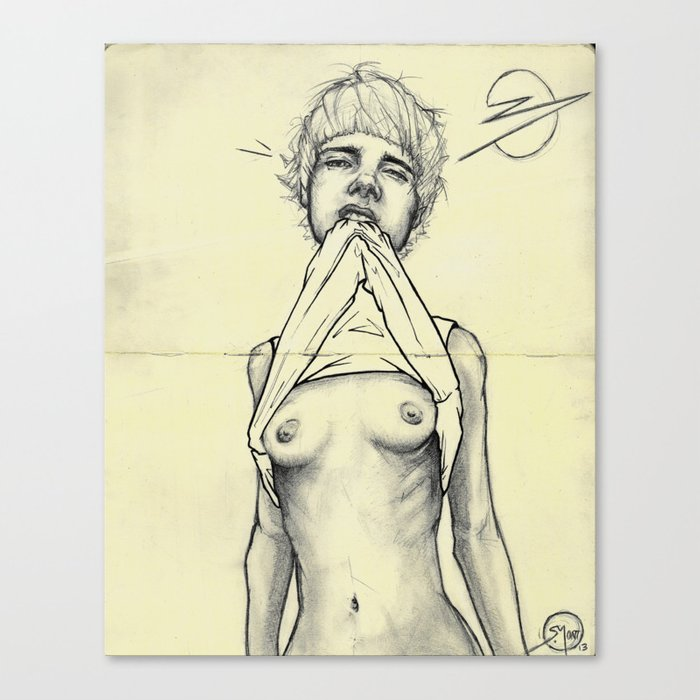 008 Vincent Canvas Print