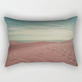 Pink dunes of Maspalomas Rectangular Pillow