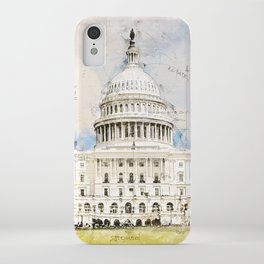 Capitol Washington DC, USA iPhone Case