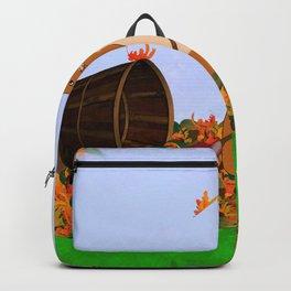 Oliver's Yard Service -Autumn Backpack