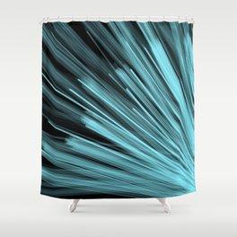 Aqua Angular Shower Curtain