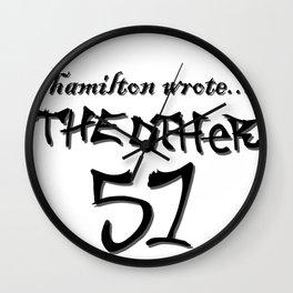 Hamilton wrote... Wall Clock