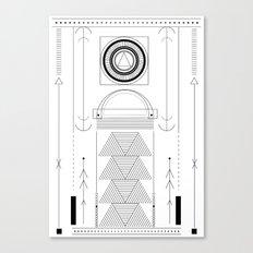cirquit blank Canvas Print