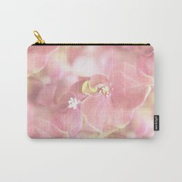 Some Soft Pink Flowers Hydrangea #decor #society6 Carry-All Pouch