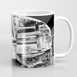Black And White Basketball Art Coffee Mug