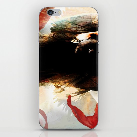 white dove iPhone Skin