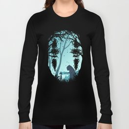 Lonely Spirit Spirited Away Long Sleeve T-shirt