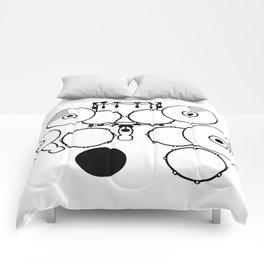 Heartbeats Drumset Comforters