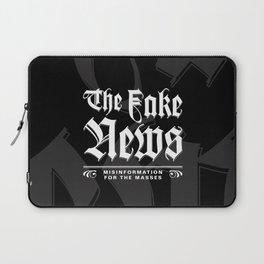 The Fake News Header Laptop Sleeve