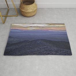 Landscape with Mountains and Modifications Rug