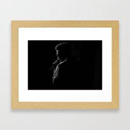 Soulful Silhouette Framed Art Print