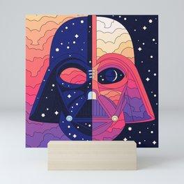 """The Dark & The Light - Darth Vader"" by Berlin Michelle Mini Art Print"