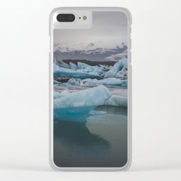 Moody Blues Clear iPhone Case