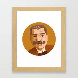 Queer Portrait - Magnus Hirschfeld Framed Art Print