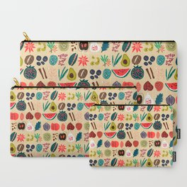 Fruit and Spice Rack Carry-All Pouch