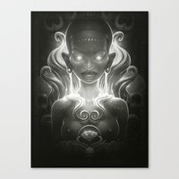 spirit Canvas Prints featuring Spirit by Dr. Lukas Brezak