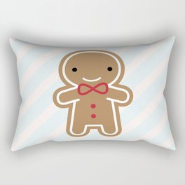 Cookie Cute Gingerbread Man Rectangular Pillow