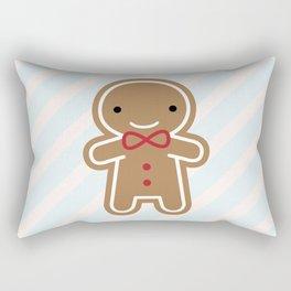 Cookie Cute Gingerbread Man Rectangular Pillow