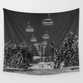 Chair Lift Off Wall Tapestry