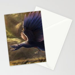 Microraptor Gui Restored Stationery Cards