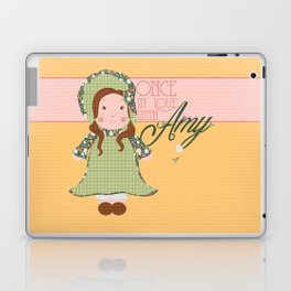 Once in Love with Amy Laptop & iPad Skin