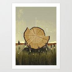 Forest Management Art Print